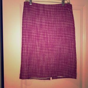 Size 6 Talbots tweed pencil skirt